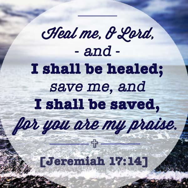 Bible Quote: Bible Verses About Healing