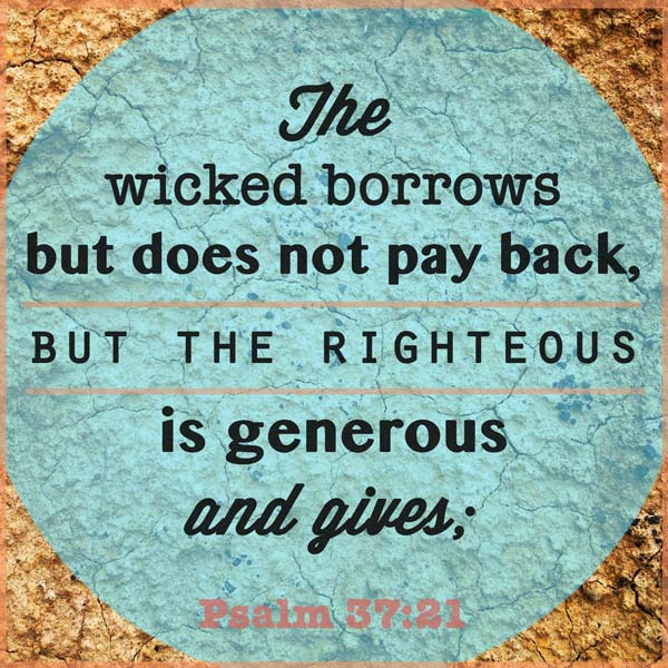 money-bible-verse