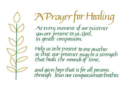 Prayers For Healing Cure The Sick With Prayer