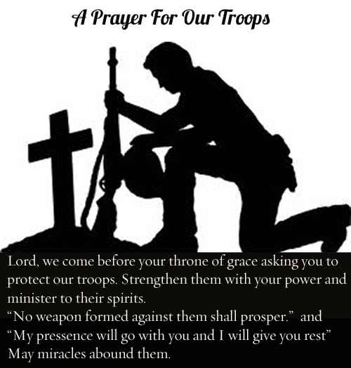 A Soldiers Prayer Praying For Safety And Courage