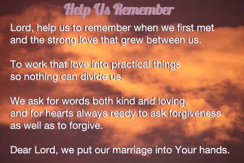 Prayer for our relationship