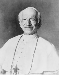 Pope Leo XIII, Author of the Prayer to Saint Michael